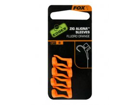 EDGES Zig Aligna Fluoro Sleeves Orange