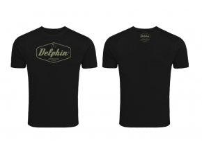 Delphin tričko Czechoslovakia - černá