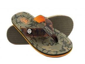Chunk Camo Flip Flops