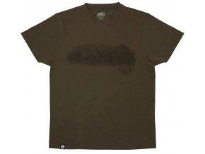 CHUNK Dark Khaki Scenic T shirt