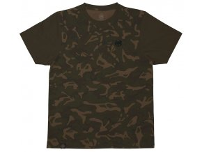 Fox tričko CHUNK Camo/Dark Khaki Edition T-shirt