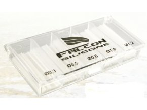 Falcon sada bužírek Silicone Float Sleeves Box
