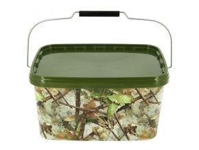 NGT kbelík Square Camo Bucket