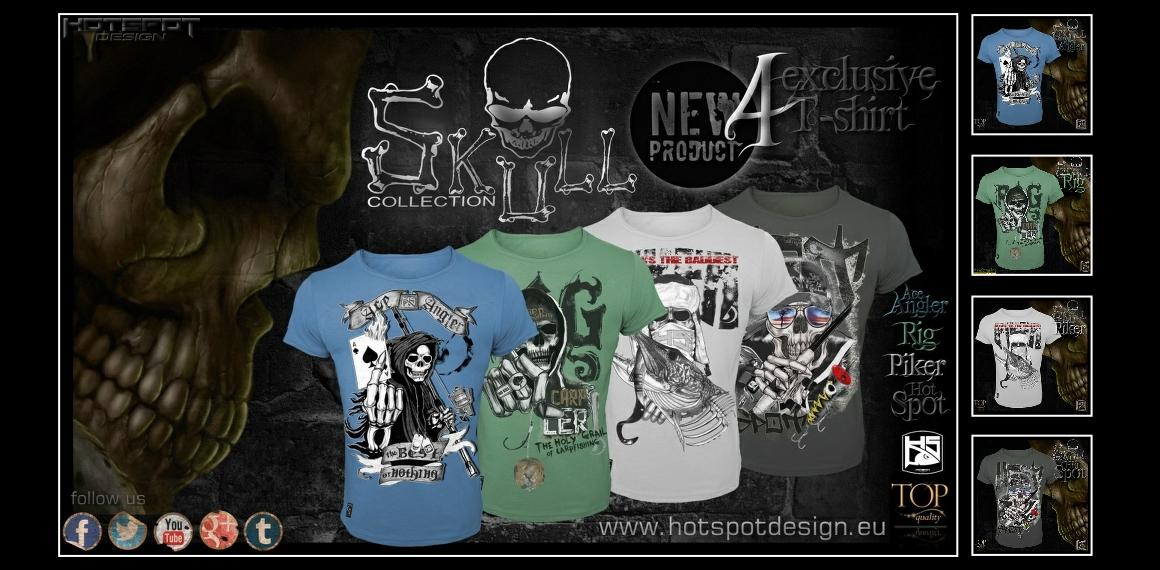 Hotspot Design - trička skull