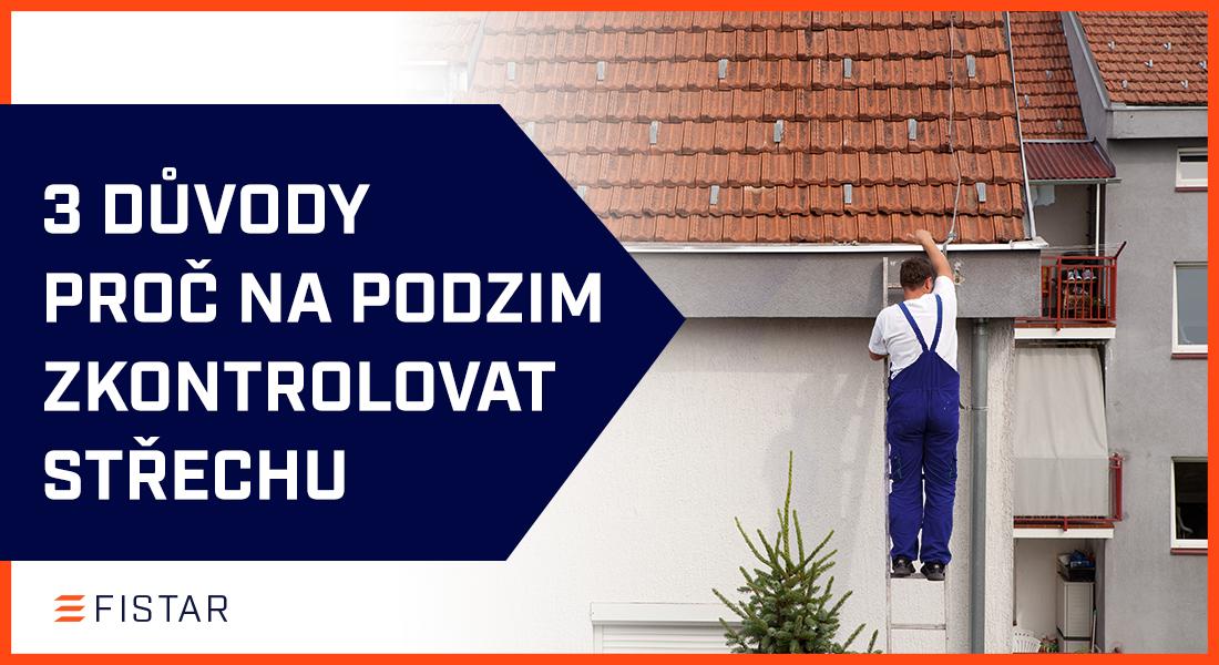 3 tipy pro podzimní kontrolu a údržbu střechy