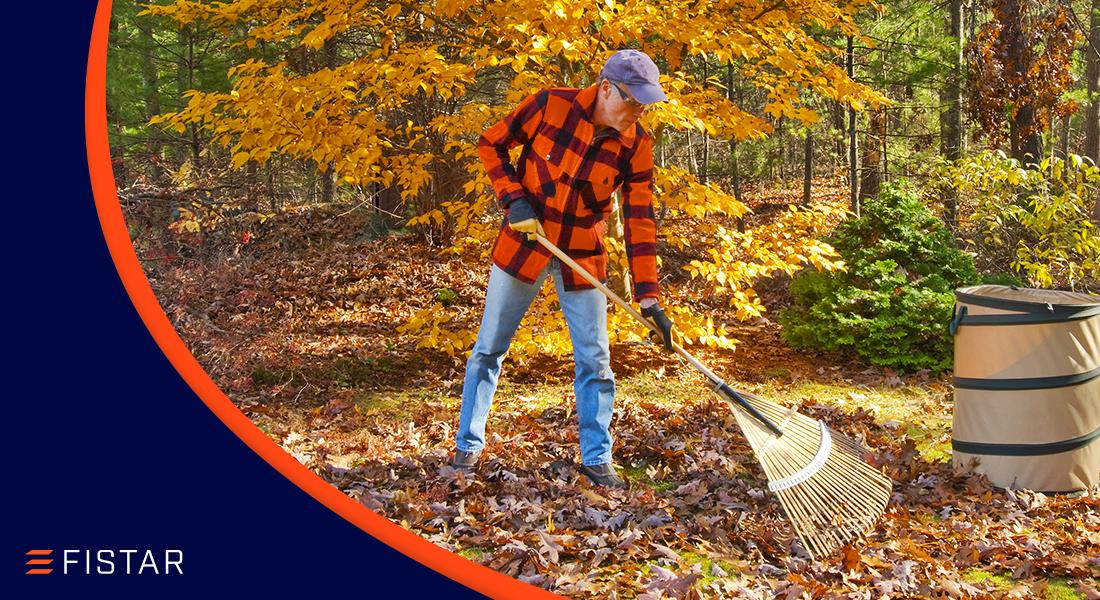 Jak si usnadnit podzimní úklid zahrady a ještě při tom zvládnout dílnu