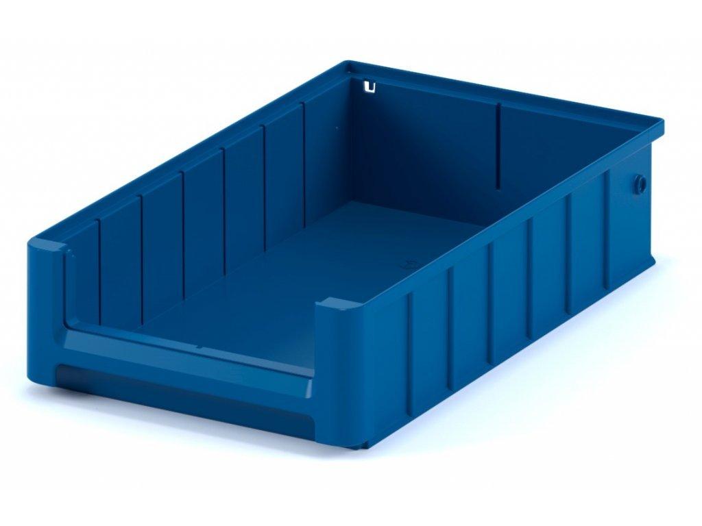 Plastový skladovací box do regálu 40 x 23,4 x 9 cm