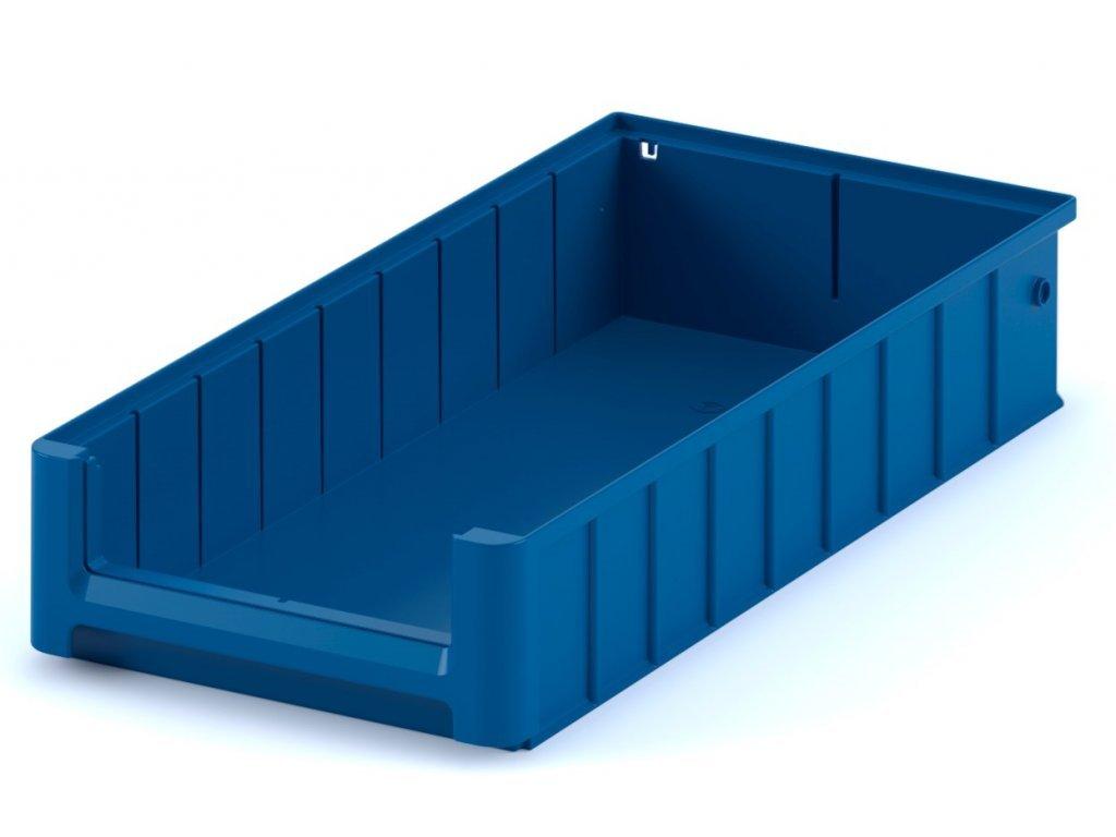 Plastový skladovací box do regálu 50 x 23,4 x 9 cm