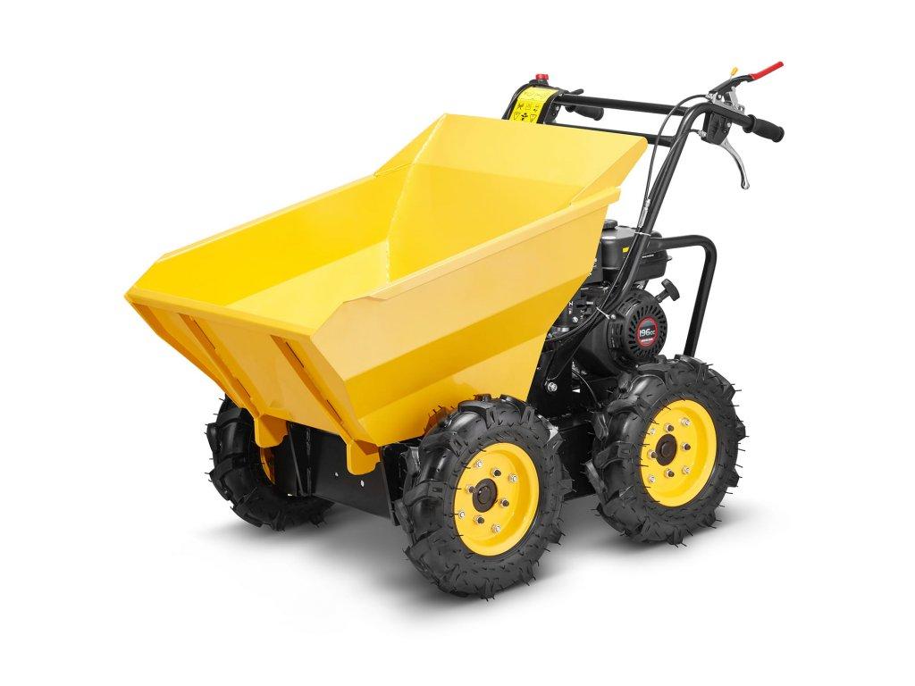 Motorové sklápěcí kolečko 4x4, 300 kg