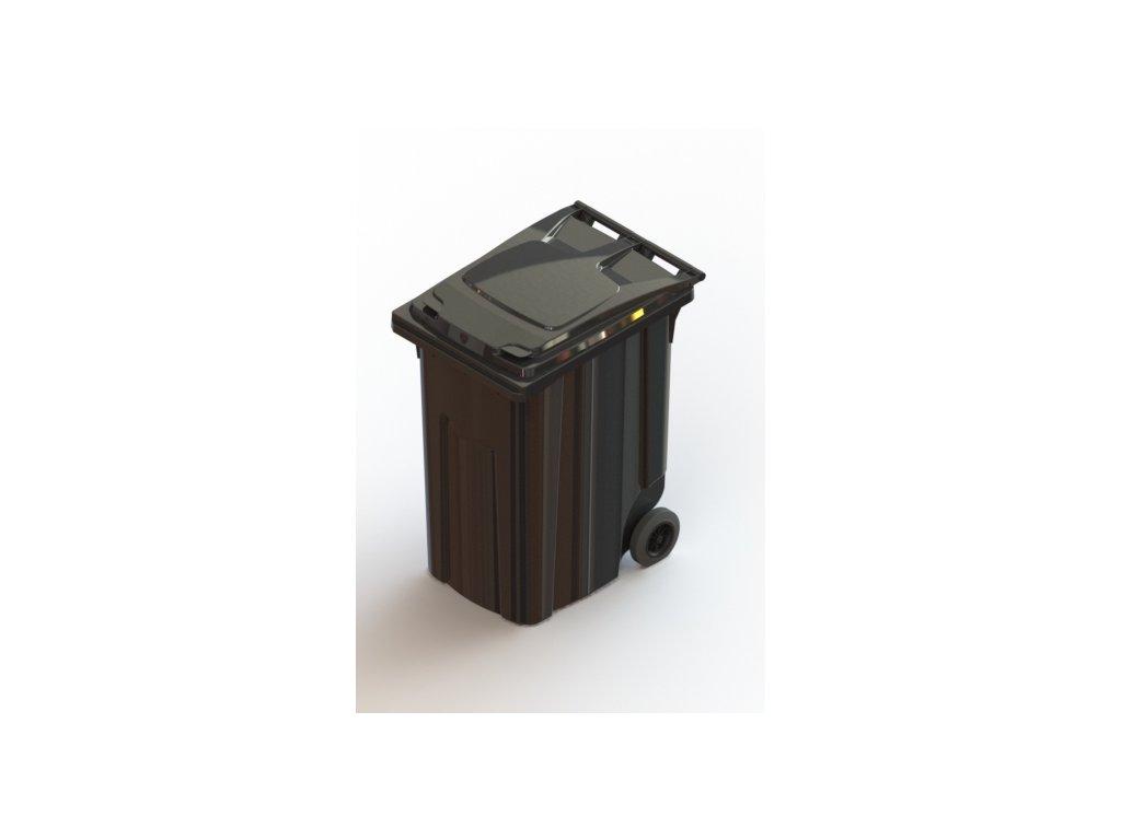 Передвижной мусорный контейнер 360л Арт.28.C29 (20.806.98.PE; 21.055.98.PE)