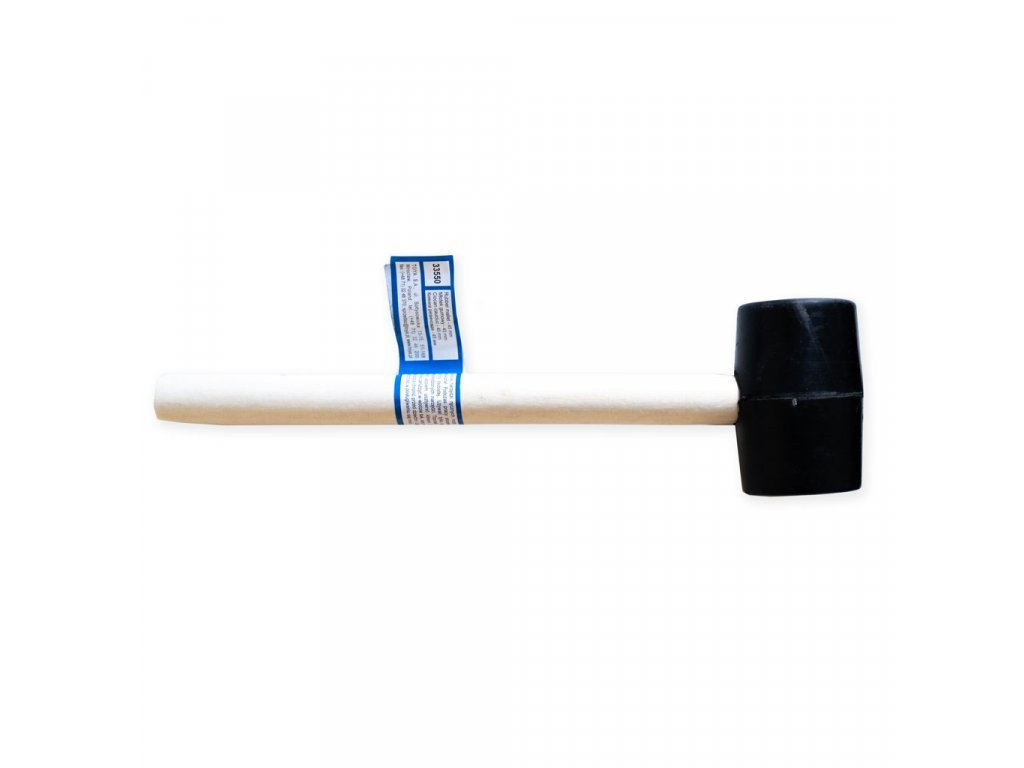 Gumová palička pro montáž regálů