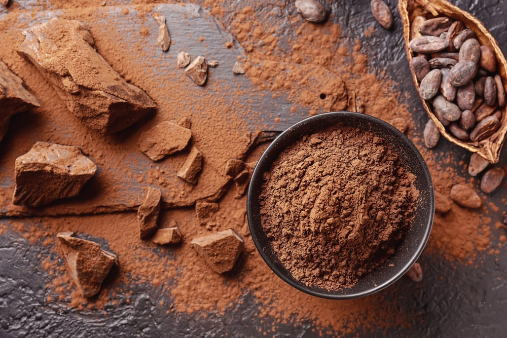 Natural Cocoa Powder without Added Sugars and Chemicals