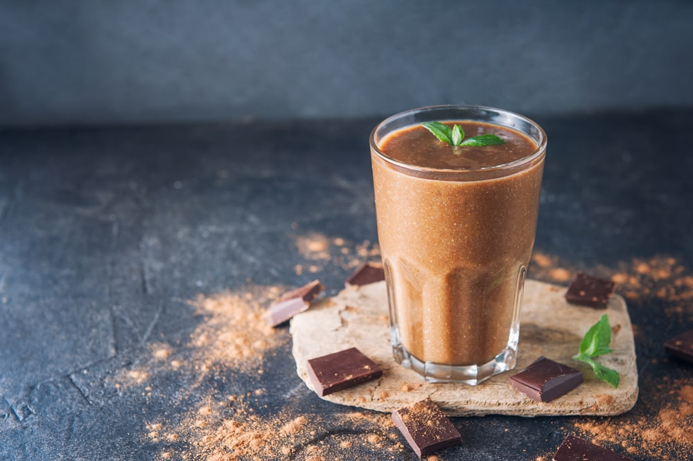 Chocolate protein drink Fit-day