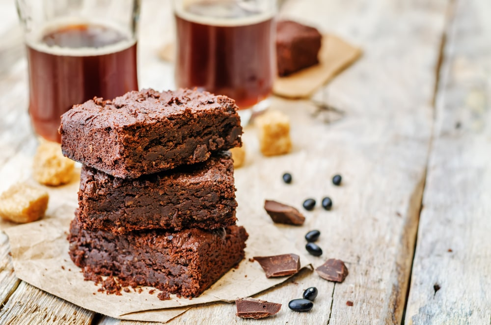 Healthy Black Bean Brownies Fit-day