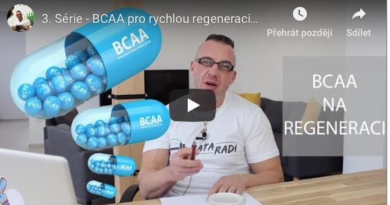 Paťa radí - 3. Série - BCAA pro rychlou regeneraci?