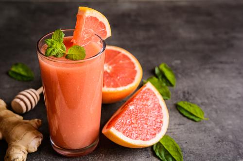 Grapefruit smoothie se zázvorem