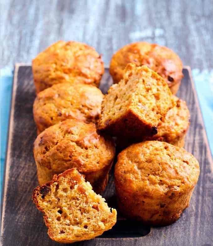 Skořicové muffiny obohacené proteinem