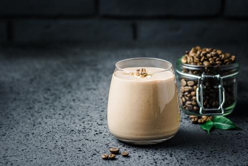 Maca - čokoládové smoothie