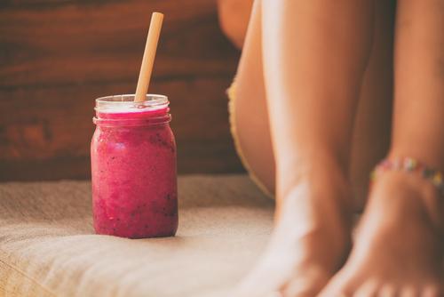 Letní Fit-day smoothie vzpomínka