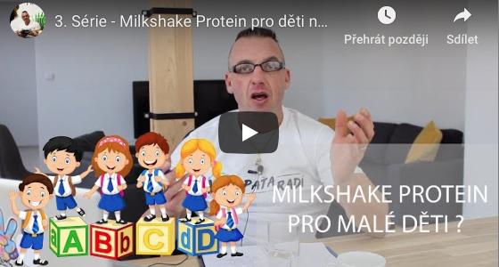Paťa radí - 3. Série - Milkshake pro děti na základní škole?