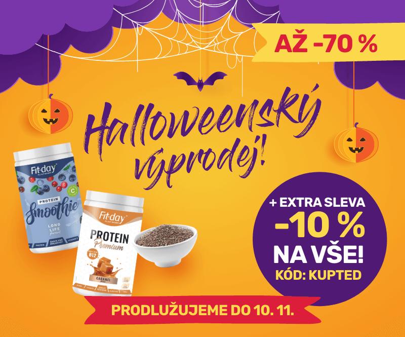 Halloweenský výprodej se slevou až -70 %