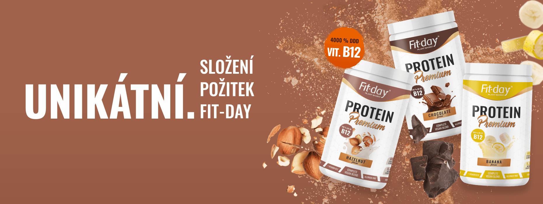 Fit-day protein premium banner