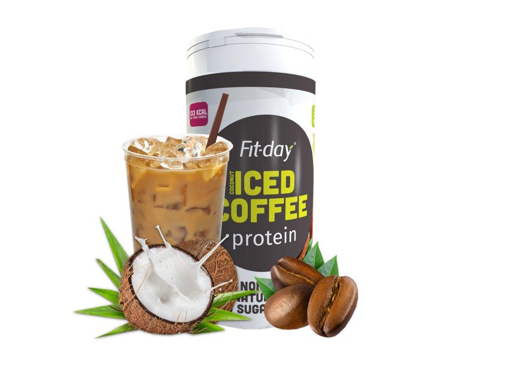 Koktejly z kokosového mléka