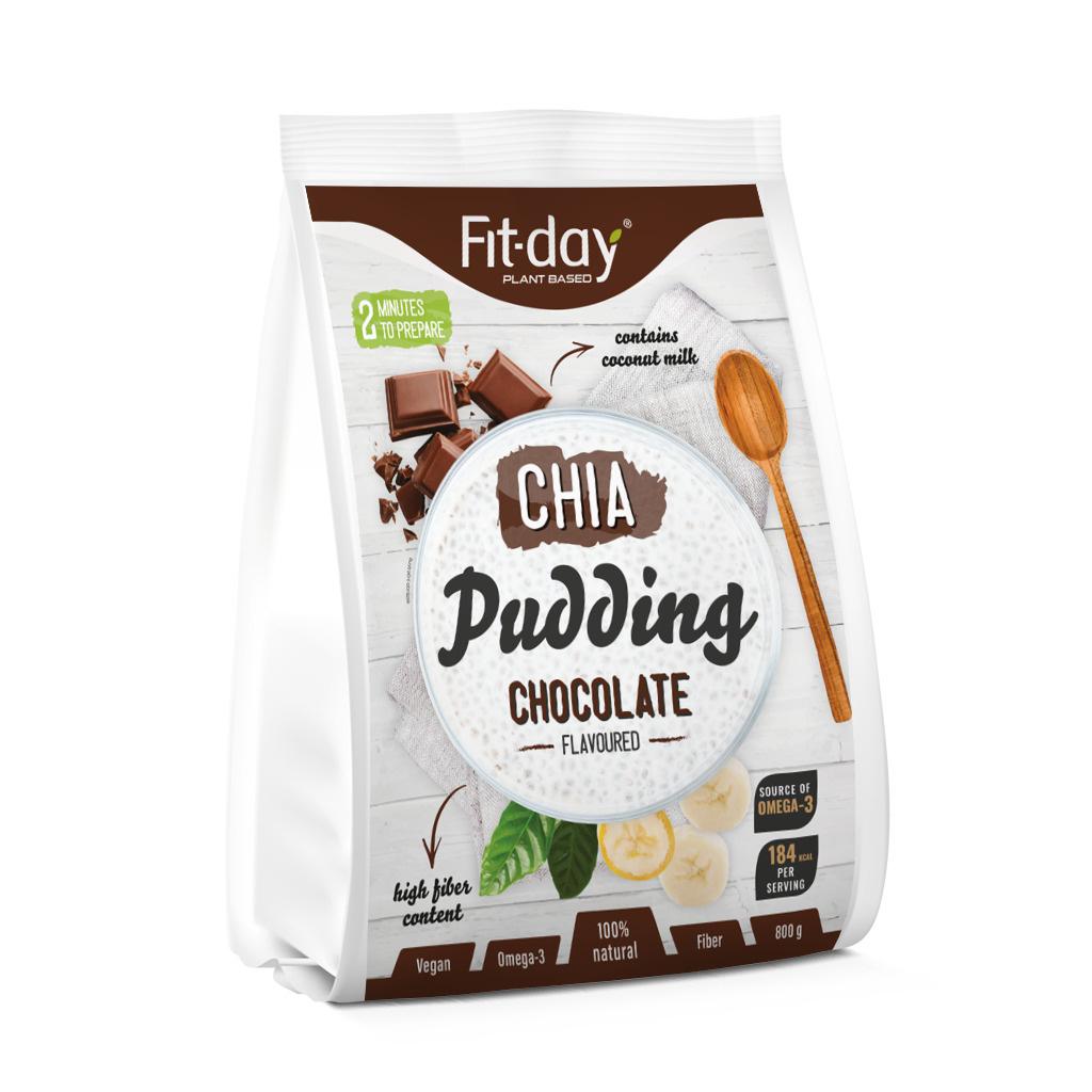 Fit day chia pudink čokoládový