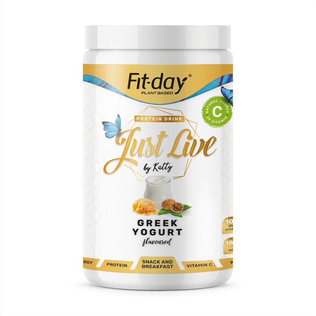 Fit day Just live řecký jogurt 900 g