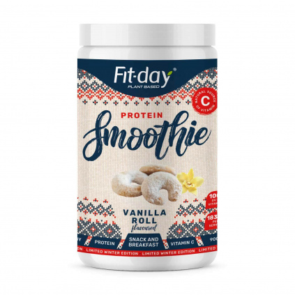Fit day Limited winter edition protein smoothie vanilla roll 900 g