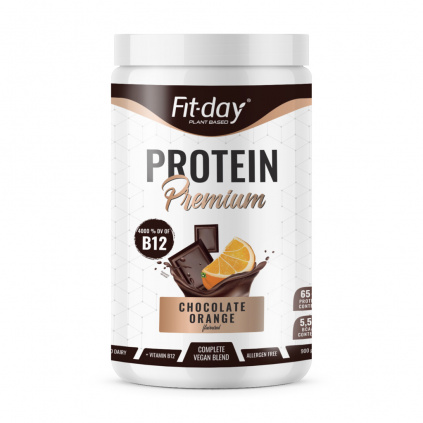 Fit day Protein premium čoko pomeranč 900 g