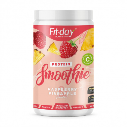 Fit day protein smoothie raspberry pineapple summer limited edition