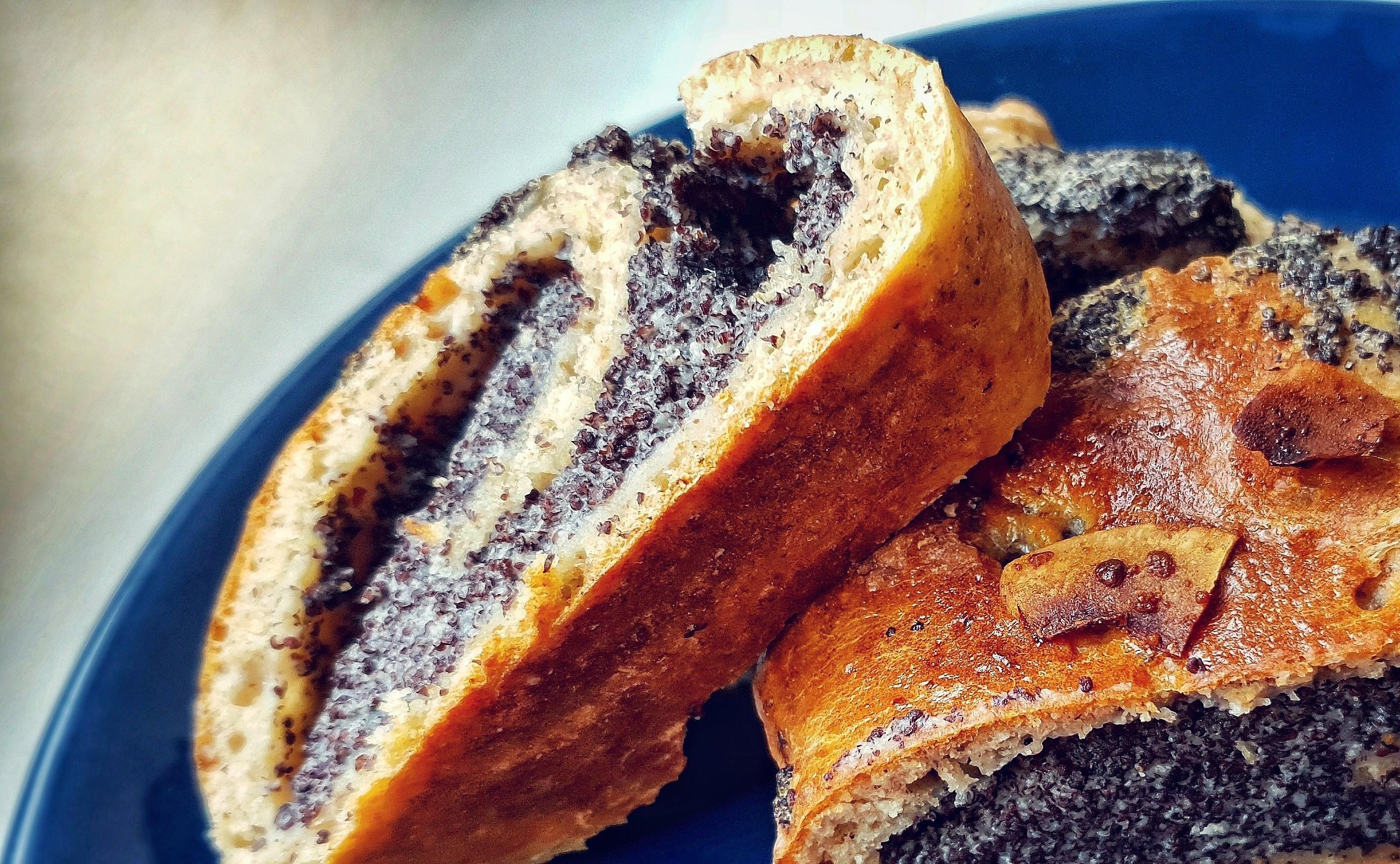 Recept na zdravý makový závin