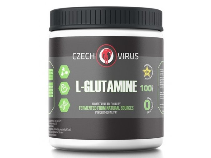 czech virus l glutamine 500g