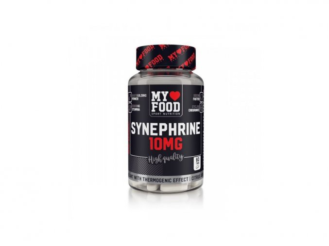 My Food Synephrine 10 mg - 60 tablet - Spalovač tuků