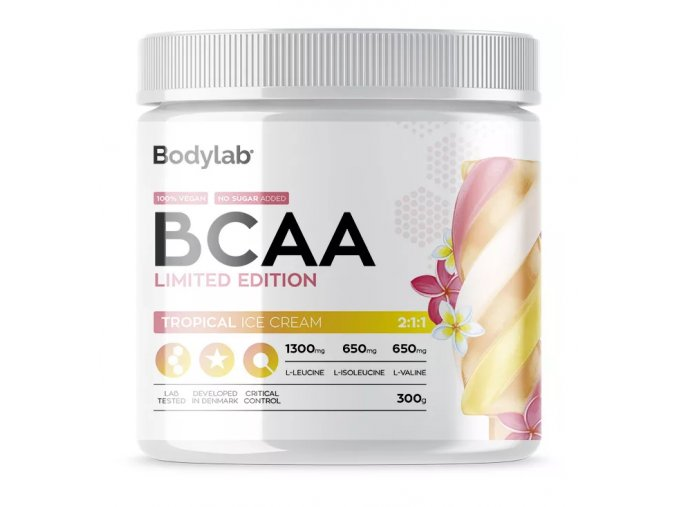 Bodylab BCAA Instant - 300 g Aminokyseliny tropical