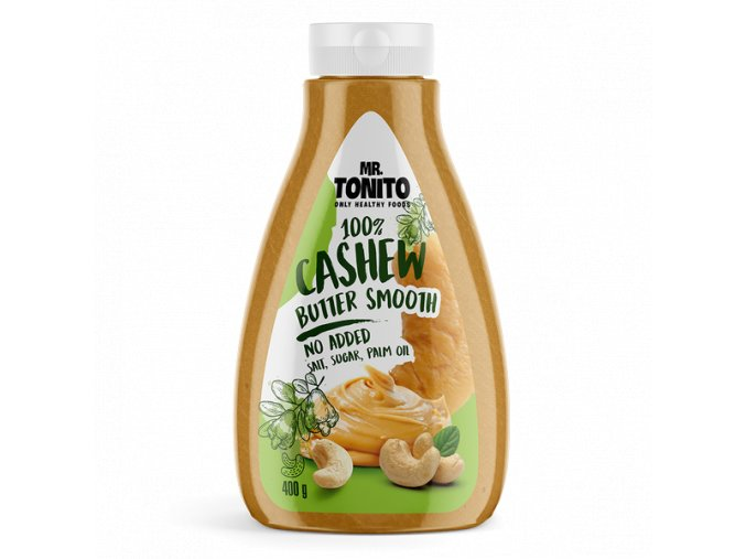 Mr Tonito Cashew Butter Smooth
