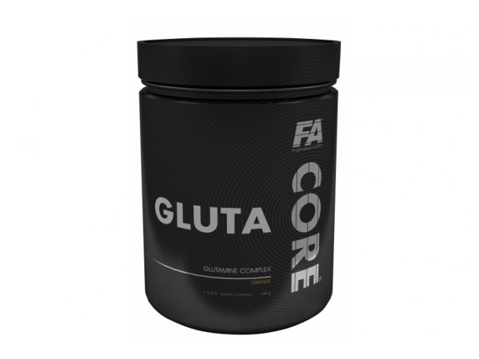 Fitness Authority Gluta CORE - 400 g - Prýškový L-glutamin
