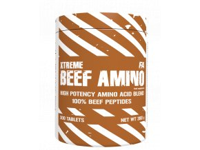 Fitness Authority XTREME Beef Amino - 600 tablet - Hovězí aminokyseliny