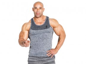 KEVIN LEVRONE LM Tank top 01 LM Slim GREY