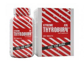 Fitness Authority XTREME Thyroburn - 120 tablet - Silný spalovač tuků
