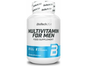 BioTechUSA Multivitamin for Men - 60 tablet - Multivitamín pro muže