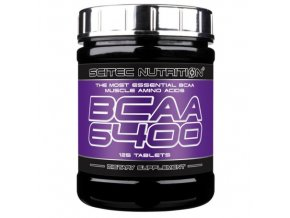 Scitec Bcaa 6400 - 125 tablet - Bcaa v tabletách