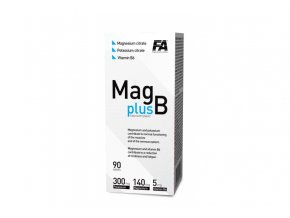 Fitness Authority MAG+B - 90 tablet - Magnesium s vitamínem B6
