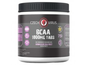czech virus bcaa 1800mg - 150 tablet - regenerace svalů