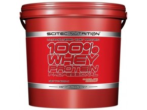 Scitec 100% Whey Protein Professional - 5000 g - Kvalitní protein