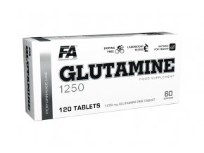 Fitness Authority Glutamine 1250mg - 120 tablet - Tabletový L-Glutamin