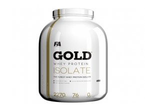 Fitness Authority Gold Whey Isolate - 2270 g - CFM Protein
