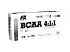 Fitness Authority BCAA 4:1:1 - 120 tablet - Tabletové BCAA