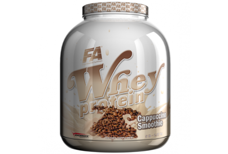 Fitness Authority Whey Protein - 2270 g Příchuť: cappuccino